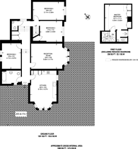 Large floorplan for Honor Oak Park, Honor Oak Park, SE23