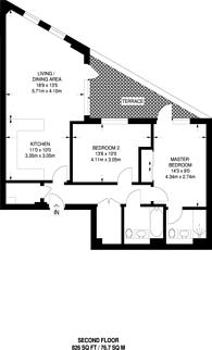 Large floorplan for Corio, Bermondsey, SE1