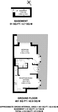 Large floorplan for Fairbridge Road, Upper Holloway, N19