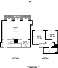 Large floorplan for Hornsey Road, Islington, N7