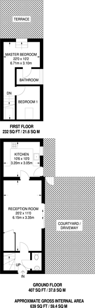 Large floorplan for St Frideswides Mews, Poplar, E14