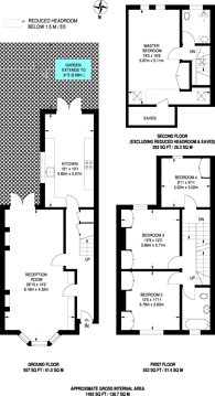 Large floorplan for Barclay Road, Walthamstow Village, E17