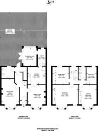 Large floorplan for Wellwood Road, Goodmayes, IG3