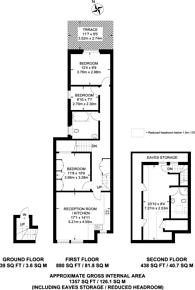 Large floorplan for Olive Road, Cricklewood, NW2