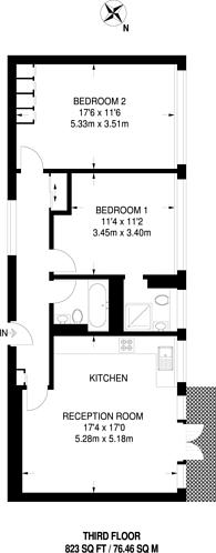 Large floorplan for Royal Avenue, Chelsea, SW3