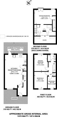 Large floorplan for Myatt Road, Brixton, SW9
