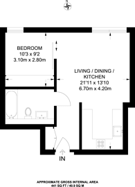 Large floorplan for Banning Street, Greenwich, SE10