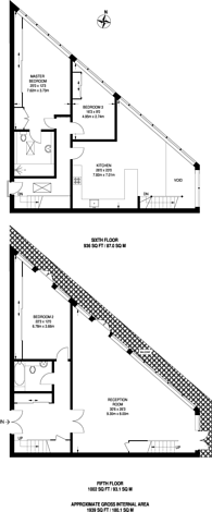 Large floorplan for Exchange Building, Spitalfields, E1