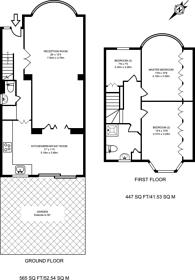 Large floorplan for Diamond Road, South Ruislip, HA4