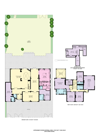 Large floorplan for Parkside Gardens, Wimbledon Village, SW19