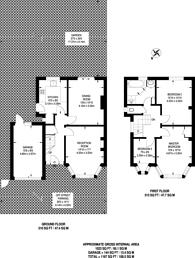 Large floorplan for Strathearn Avenue, Whitton, TW2