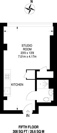 Large floorplan for Elmgrove Road, Harrow, HA1