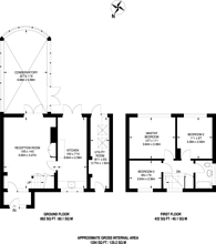 Large floorplan for Great Goodwin Drive, Bushy Hill, GU1