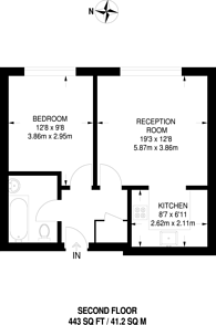 Large floorplan for Bromyard Avenue, Acton, W3