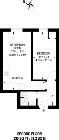 Large floorplan for Fonthill Road, Finsbury Park, N4