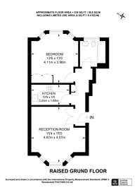 Large floorplan for Elsham Road, Holland Park, W14