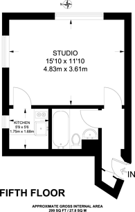 Large floorplan for Edgware Road, Marylebone, W2