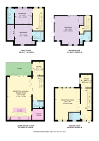 Large floorplan for Whittlebury Mews West, Primrose Hill, NW1