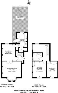 Large floorplan for Highbury Grange, Highbury and Islington, N5
