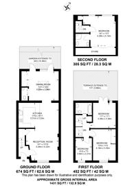 Large floorplan for Huntingdon Street, Barnsbury, N1