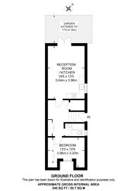Large floorplan for Leybourne Street, Camden, NW1