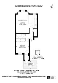Large floorplan for Colville Terrace, Notting Hill, W11