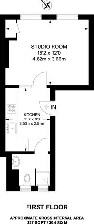 Large floorplan for James street, Marylebone, W1U
