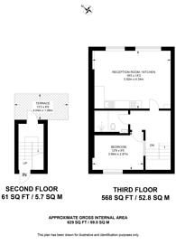 Large floorplan for Callow Street, Chelsea, SW3