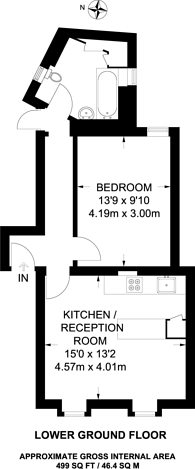 Large floorplan for Shroton Street, Marylebone, NW1