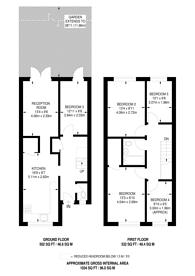 Large floorplan for Laverstoke Gardens, Roehampton, SW15