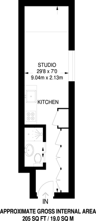 Large floorplan for Charcot Road, Colindale, NW9