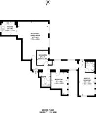 Large floorplan for West Park Road, Ealing, UB2