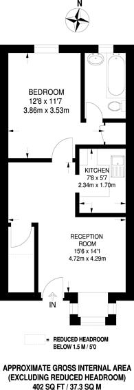 Large floorplan for Sovereign Grove, North Wembley, HA0