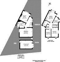 Large floorplan for Castleton Avenue, Wembley, HA9
