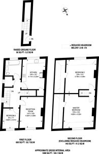 Large floorplan for Malvern Road, Maida Hill, NW6