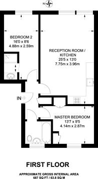 Large floorplan for Hoxton Street, Hoxton, N1