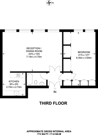 Large floorplan for Tabernacle Street, Shoreditch, EC2A