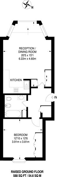 Large floorplan for Grenville Place, South Kensington, SW7