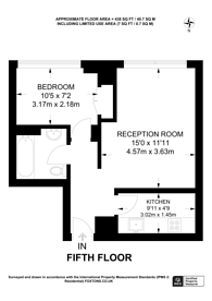Large floorplan for Caxton Street, St James's Park, SW1H