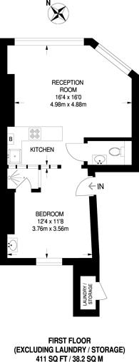 Large floorplan for Kensington Park Road, Notting Hill, W11