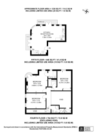 Large floorplan for Artesian Road, Westbourne Grove, W2