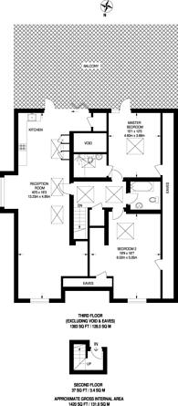 Large floorplan for Fontenoy Road, Balham, SW12