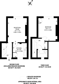 Large floorplan for Cherry Garden Street, Bermondsey, SE16