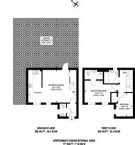 Large floorplan for Harrow Road, North Wembley, HA0