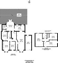 Large floorplan for Levett Gardens, Goodmayes, IG3