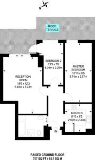 Large floorplan for Chelsea Harbour, Chelsea Harbour, SW10