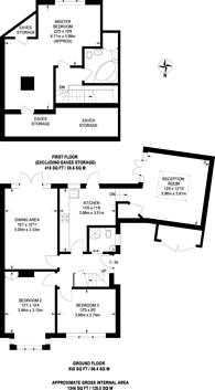 Large floorplan for Bryanstone Close, Guildford, GU2
