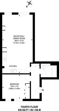 Large floorplan for College Road, Harrow, HA1