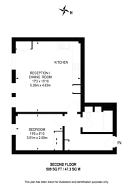 Large floorplan for College Road, Harrow, HA1