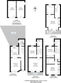Large floorplan for Mill Plat, Isleworth, TW7